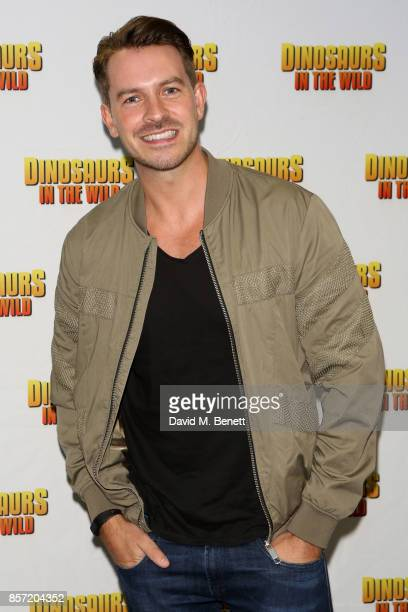 Ashley Taylor Dawson attends the launch of 'Dinosaurs in the Wild' at Event City on October 3 2017 in Manchester England