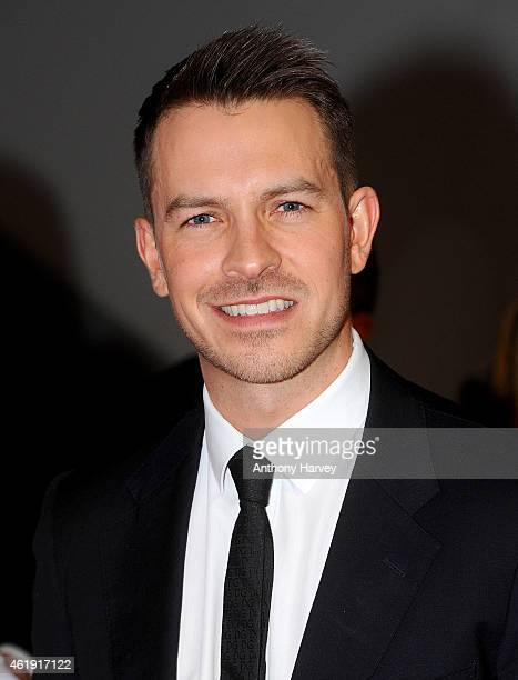 Ashley Taylor Dawson attends the National Television Awards at 02 Arena on January 21 2015 in London England