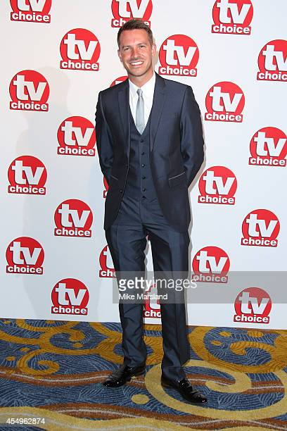 Ashley Taylor Dawson attends the TV Choice Awards 2014 at London Hilton on September 8 2014 in London England