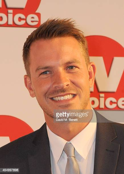 Ashley Taylor Dawson attends the TV Choice Awards 2014 at the London Hilton on September 8 2014 in London England