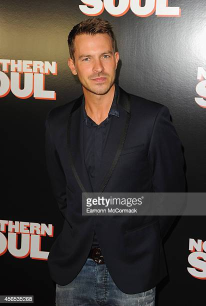 Ashley Taylor Dawson attends the UK Gala screening of 'Northern Soul' at Curzon Soho on October 2 2014 in London England