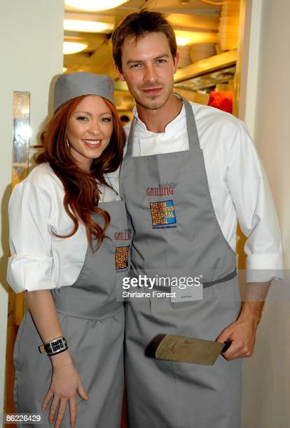 Ashley TaylorDawson and Natasha Hamilton battle it out to prepare a three course meal during a charity cookoff in aid of The New Children's Hospital...