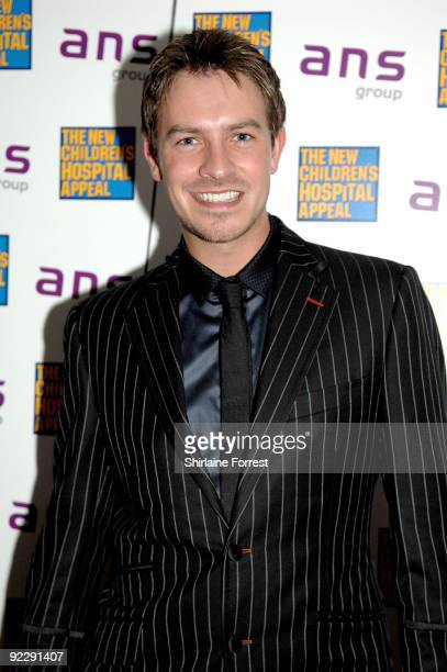 Ashley TaylorDawson attends Notte Bella Il Finito fundraising event for The New Children's Hospital Appeal at The Hilton on October 22 2009 in...