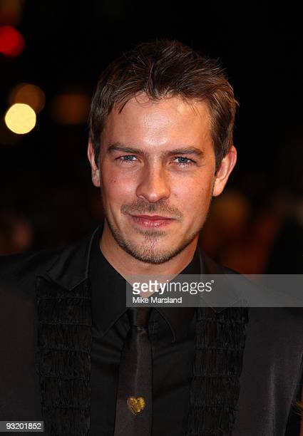 Ashley TaylorDawson attends the UK Film Premiere of 'Me Orson Welles' at Vue West End on November 18 2009 in London England