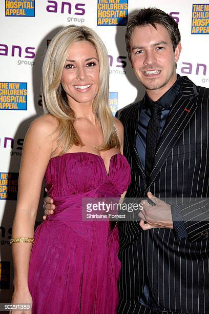 Ashley TaylorDawson with girlfriend Karen McKay attend Notte Bella Il Finito fundraising event for The New Children's Hospital Appeal at The Hilton...