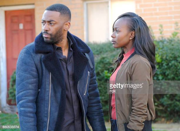 Ashley Thomas and Anna Diop in the '300 PM400 PM' episode of 24 LEGACY airing Monday Feb 20 on FOX