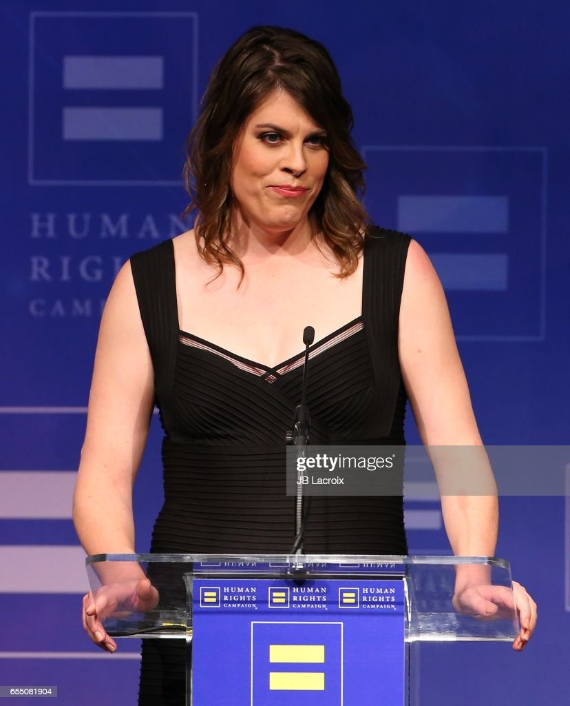 Ashley Thomas attends the Human Rights Campaign's 2017 on March 18, 2017 in Los Angeles, California.