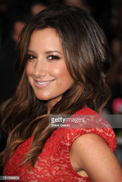 Ashley Tisdale arrives at the 'Pirates Of The Caribbean On Stranger Tides' World Premiere at Disneyland on May 7 2011 in Anaheim California
