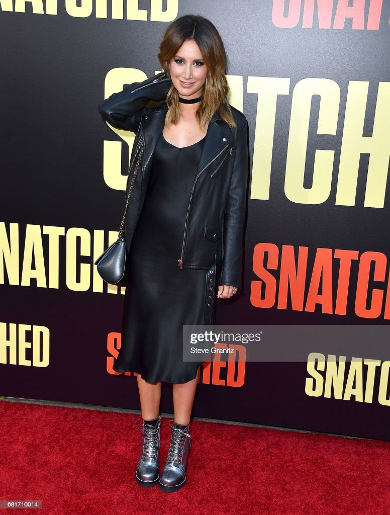 Ashley Tisdale arrives at the Premiere Of 20th Century Fox's 'Snatched' at Regency Village Theatre on May 10, 2017 in Westwood, California.