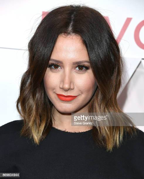 Ashley Tisdale arrives at the #REVOLVEawards at DREAM Hollywood on November 2 2017 in Hollywood California