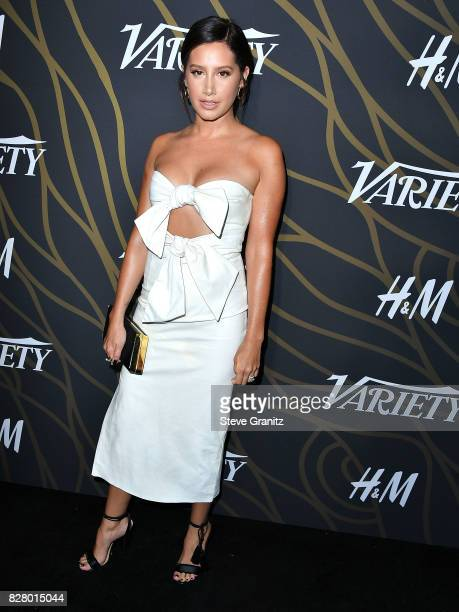 Ashley Tisdale arrives at the Variety Power Of Young Hollywood at TAO Hollywood on August 8 2017 in Los Angeles California