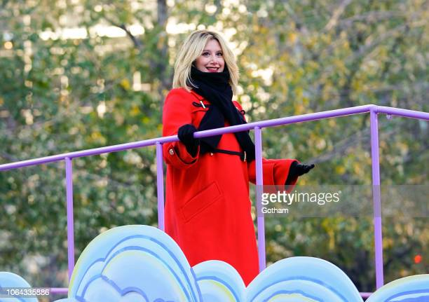 Ashley Tisdale at 2018 Macy's Thanksgiving Day Parade on November 22 2018 in New York City