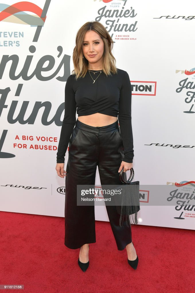 Ashley Tisdale at Steven Tyler and Live Nation presents Inaugural Gala Benefitting Janie's Fund at Red Studios on January 28, 2018 in Los Angeles, California.