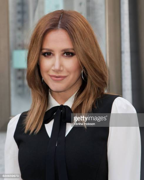 Ashley Tisdale attends a launch event for DUO at Hollywood and Highland on February 16 2017 in Hollywood California