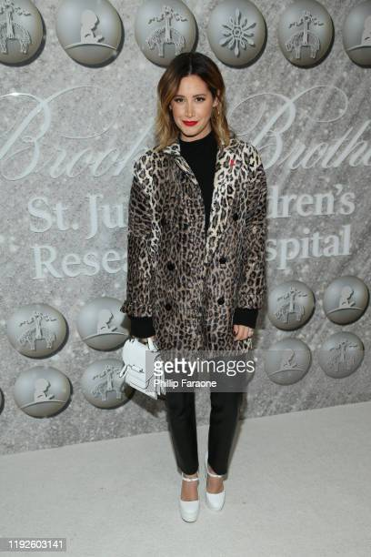 Ashley Tisdale attends Brooks Brothers Annual Holiday Celebration To Benefit St Jude at The West Hollywood EDITION on December 07 2019 in West...