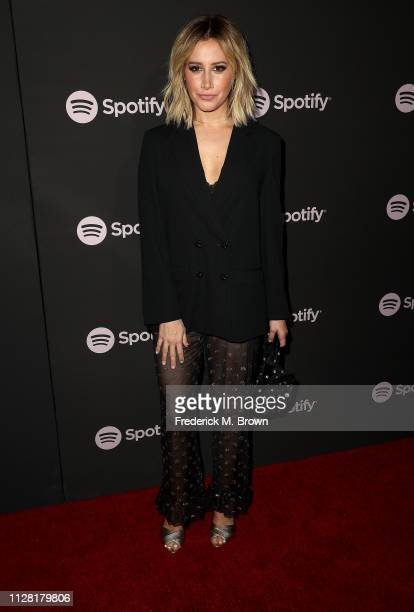Ashley Tisdale attends Spotify's Best New Artist Party at the Hammer Museum on February 07 2019 in Los Angeles California