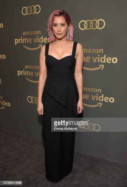 Ashley Tisdale attends the Amazon Prime Video's Golden Globe Awards After Party at The Beverly Hilton Hotel on January 6 2019 in Beverly Hills...