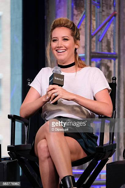 Ashley Tisdale attends the AOL Build Speaker Series to discuss Amateur Night at AOL HQ on July 27 2016 in New York City