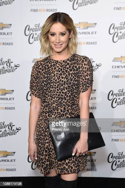 Ashley Tisdale attends the Create Cultivate And Chevrolet Launch Event For The Create Cultivate 100 List on January 24 2019 in Los Angeles California