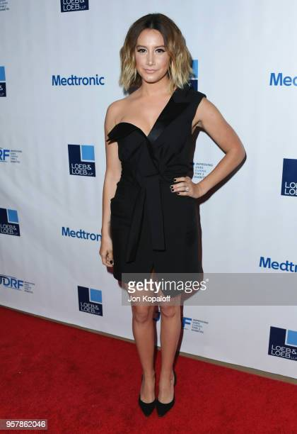 Ashley Tisdale attends the Juvenile Diabetes Research Foundation's 15th Annual Imagine Gala at The Beverly Hilton Hotel on May 12 2018 in Beverly...