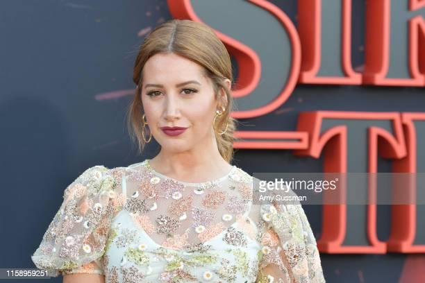 Ashley Tisdale attends the premiere of Netflix's Stranger Things Season 3 on June 28 2019 in Santa Monica California