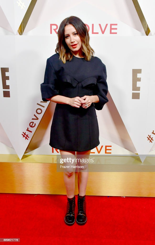 Ashley Tisdale attends the #REVOLVEawards at DREAM Hollywood on November 2, 2017 in Hollywood, California.