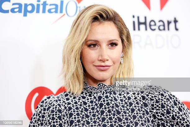 Ashley Tisdale attends Z100's Jingle Ball 2018 at Madison Square Garden on December 7 2018 in New York City