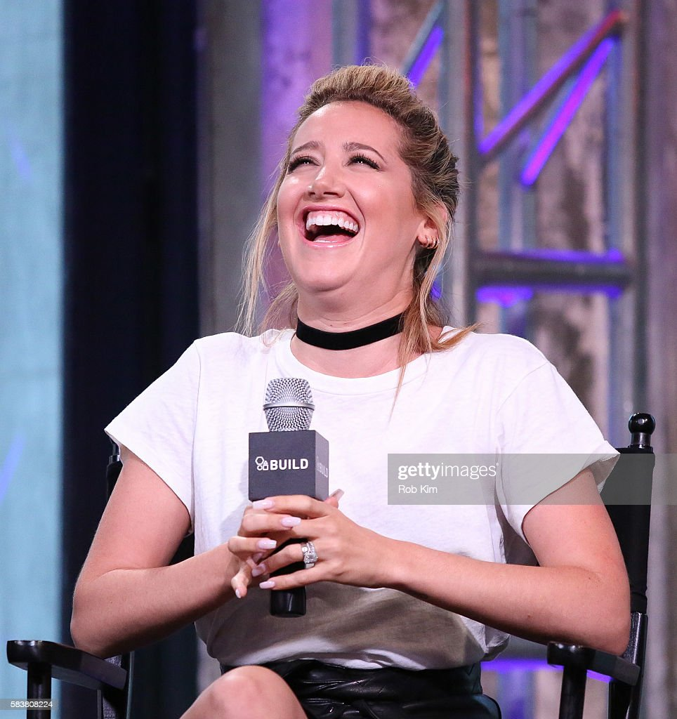 AOL Build Presents Jason Biggs, Ashley Tisdale And Jenny Mollen Discussing Their New Film 'Amateur Night' : News Photo