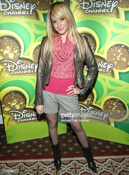 Ashley Tisdale during Breakfast with the Cast and Crew of 'High School Musical' December 16 2005 at Four Seasons Hotel in Los Angeles California...