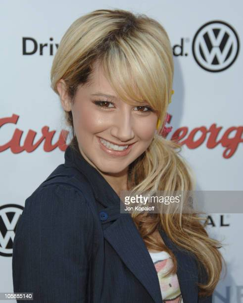 Ashley Tisdale during 'Curious George' Los Angeles Premiere Arrivals at ArcLight Cinemas in Hollywood California United States