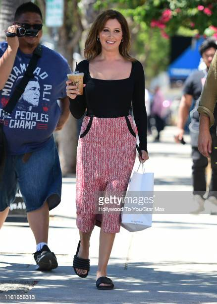 Ashley Tisdale is seen on August 14, 2019 in Los Angeles, California.