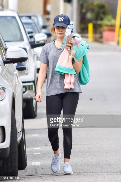 Ashley Tisdale is seen on February 07 2017 in Los Angeles California