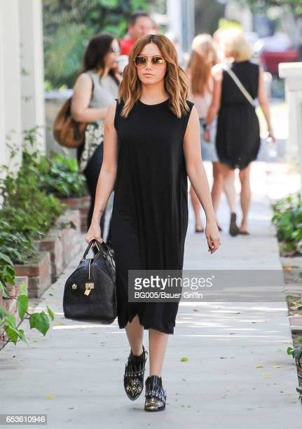 Ashley Tisdale is seen on March 15 2017 in Los Angeles California