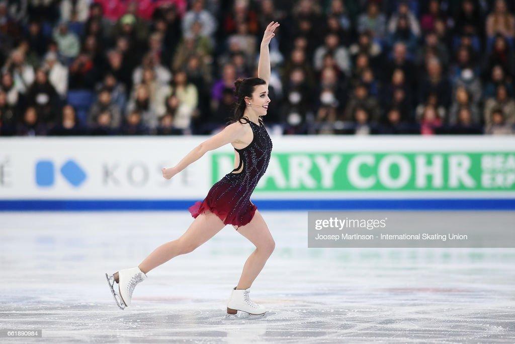 World Figure Skating Championships - Helsinki Day 3 : News Photo