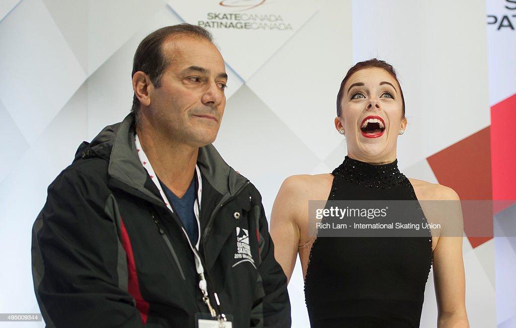 Skate Canada International ISU Grand Prix of Figure Skating - Day 1 : News Photo