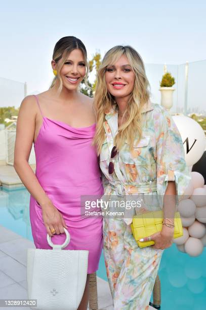 Ashley Wahler and Jasmine Dustin attend the celebration of Chrishell Stause's DSW Fun, Flirty Capsule Collection at Sunset Tower Hotel on July 14,...
