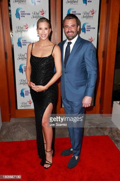 """Ashley Wahler and Jason Wahler attend a private event with the cast of MTV's """"The Hills"""" hosted by Cure Addiction Now & The Red Songbird Foundation..."""