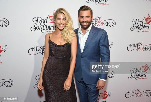 Ashley Wahler and Jason Wahler attend the Hilary Roberts Birthday Celebration and the Red Songbird Foundation Launch on May 11 2019 in Los Angeles...