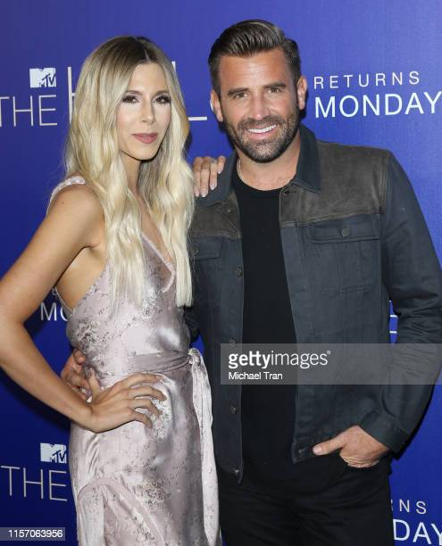 Ashley Wahler and Jason Wahler attend the Los Angeles premiere of MTV's The Hills New Beginnings held at Liaison on June 19 2019 in Los Angeles...
