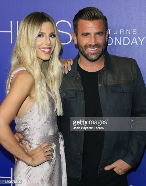 Ashley Wahler and Jason Wahler attend the premiere of MTV's The Hills New Beginnings at Liaison on June 19 2019 in Los Angeles California