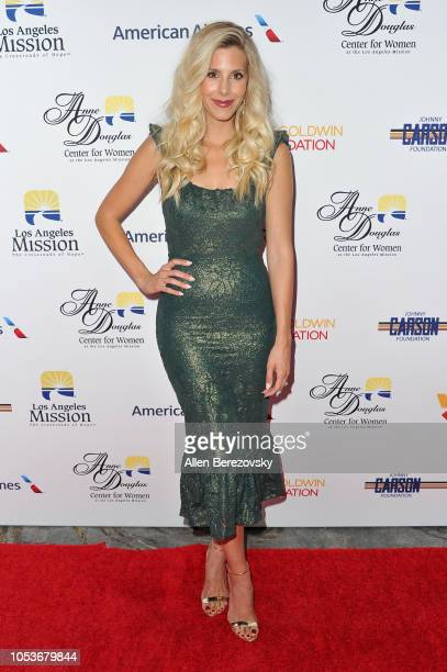 Ashley Wahler attends the Los Angeles Mission Legacy of Vision gala at The Beverly Hilton Hotel on October 25 2018 in Beverly Hills California