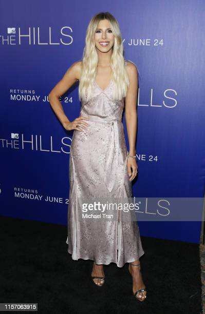 Ashley Wahler attends the Los Angeles premiere of MTV's The Hills New Beginnings held at Liaison on June 19 2019 in Los Angeles California