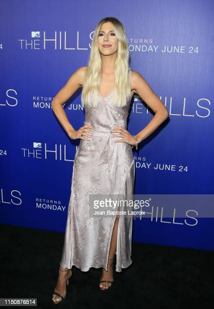 Ashley Wahler attends the premiere of MTV's The Hills New Beginnings at Liaison on June 19 2019 in Los Angeles California