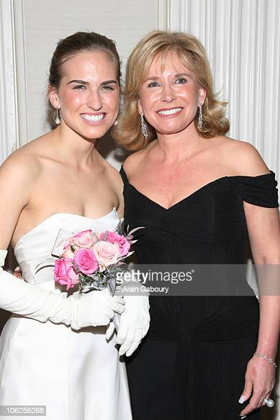 Ashley Walker Bush and Sharon Bush during The 52nd International Debutante Ball Receiving Line at The Waldorf Astoria in New York City New York...