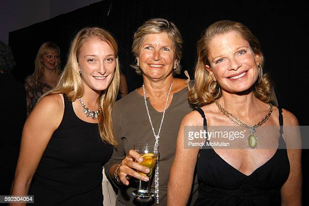 Ashley Wallace Susan Ball and Robin Bell attend Lyn Devon Debut Collection and Cocktails at 463 Broome St on September 7 2005 in New York City