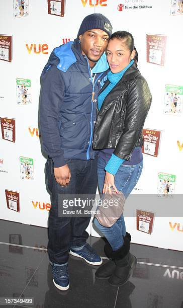 Ashley Walters attends Diary of a Wimpy Kid UK dvd Premiere at Vue Westfield on December 02 2012 in London England