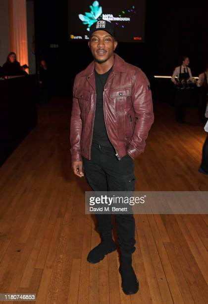 Ashley Walters attends the BAFTA Breakthrough Brits celebration event in partnership with Netflix at Banqueting House on November 7 2019 in London...