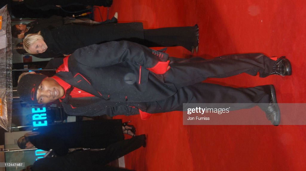 Ashley Walters during The Orange British Academy Film Awards 2006 - Outside Arrivals at Odeon Leicester Square in London, Great Britain.