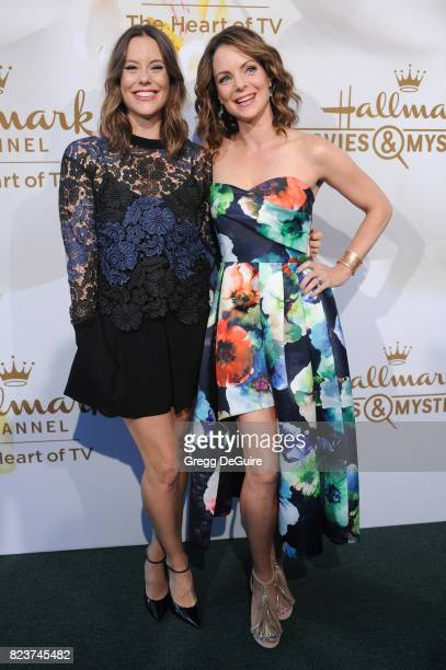 Ashley Williams and Kimberly WilliamsPaisley arrive at the 2017 Summer TCA Tour Hallmark Channel And Hallmark Movies And Mysteries at a private...