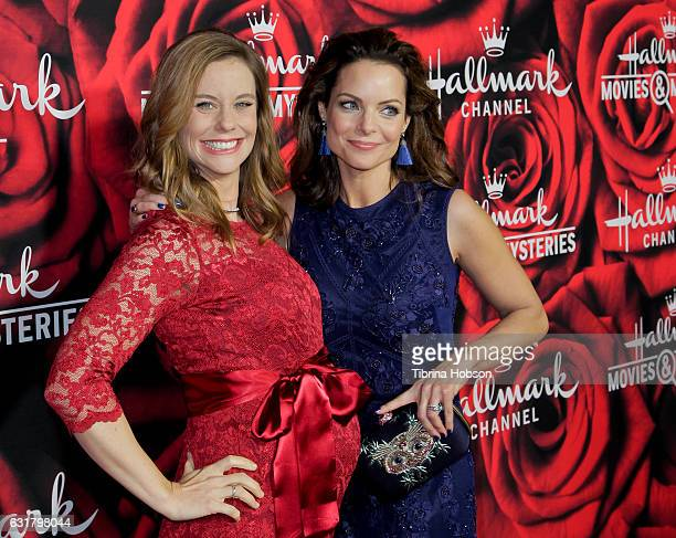 Ashley Williams and Kimberly WilliamsPaisley attend Hallmark Channel Movies and Mysteries Winter 2017 TCA Press Tour at The Tournament House on...
